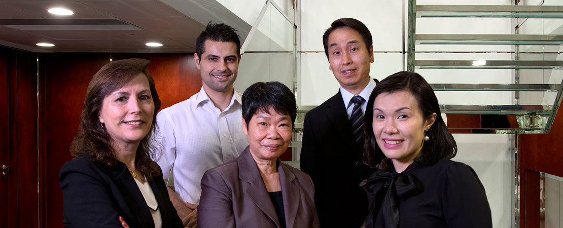 FINANCE AND PUBLIC RELATIONS DEPARTMENT - Lurdes Conceição, Bruno Leite, Margaret Law, Kok Vá, Anabela Kuong